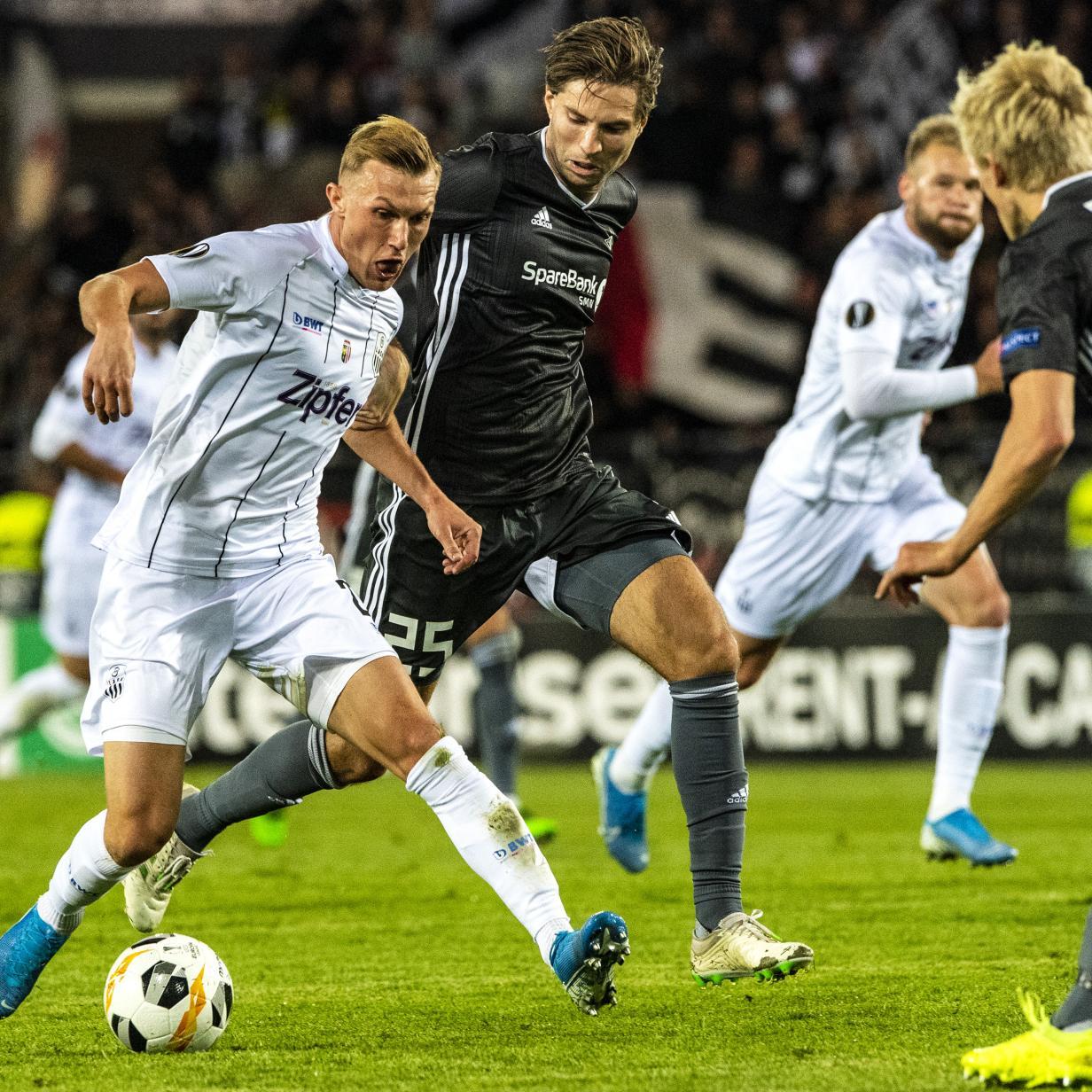 Perfekter Start für den LASK in der Europa League