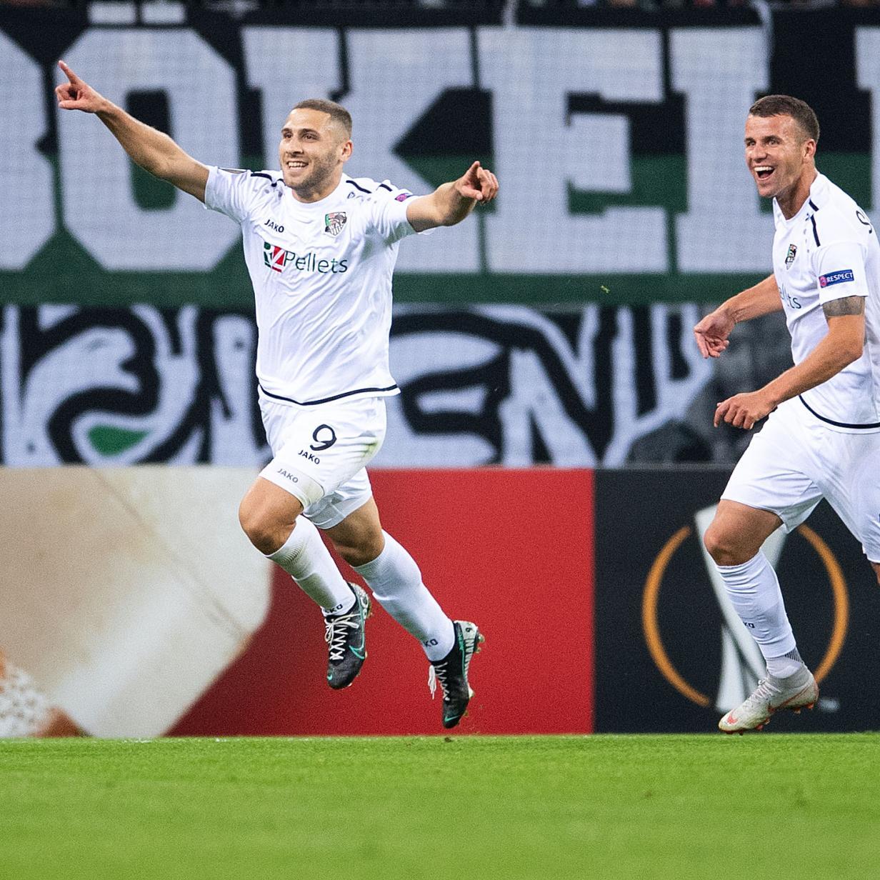 Europa-League-Sensation: WAC gewinnt 4:0 in Mönchengladbach