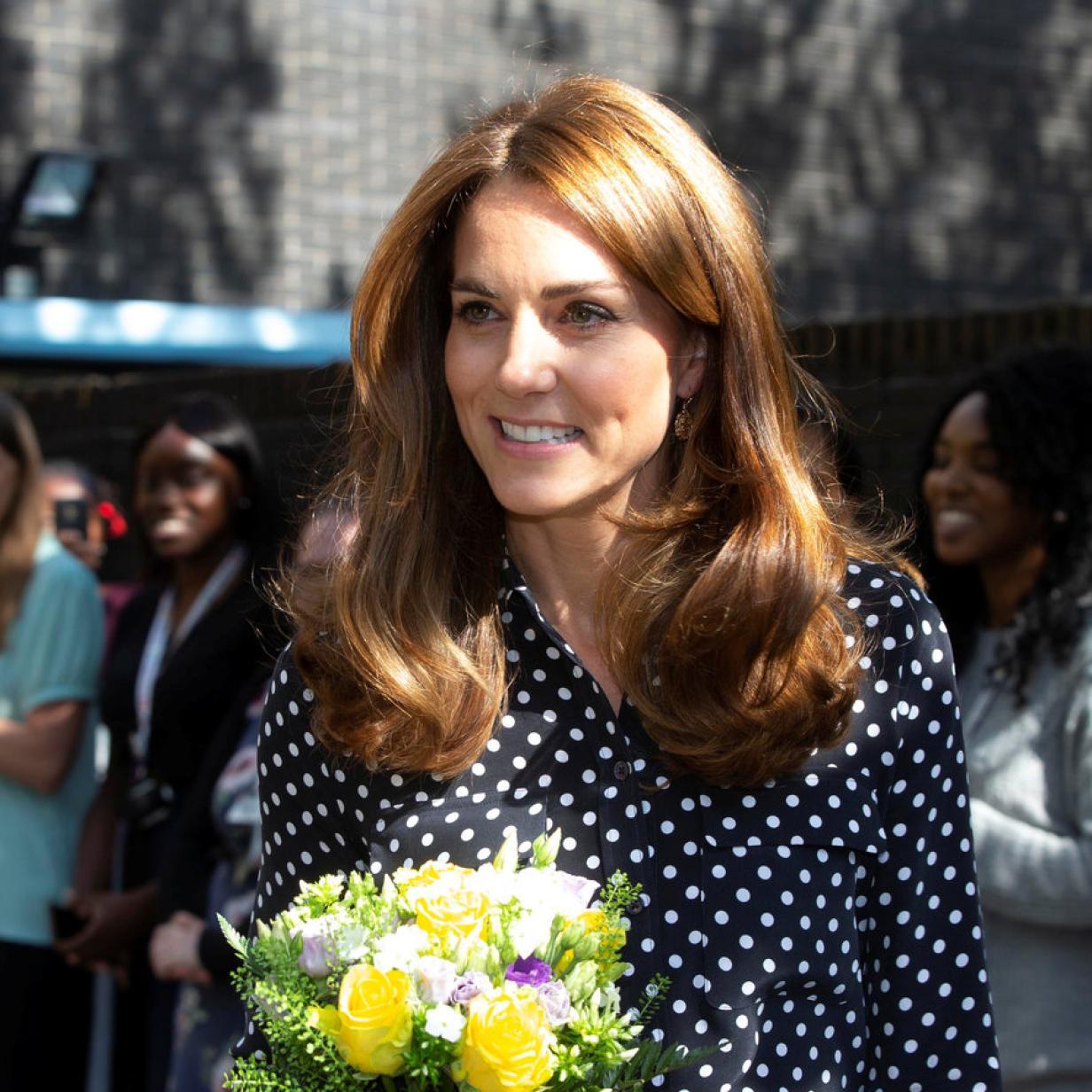 Herzogin Kate bezieht mit Outfit Stellung zu Baby-Gerüchten