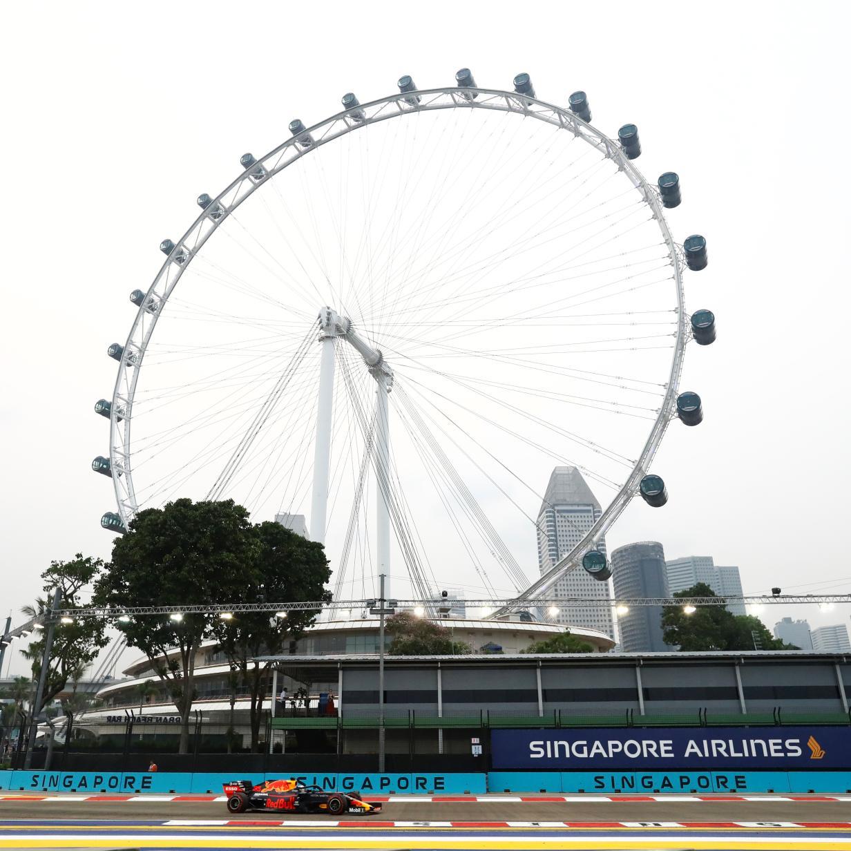Formel 1 in Singapur: Zu Hitze kommt auch verrauchte Luft