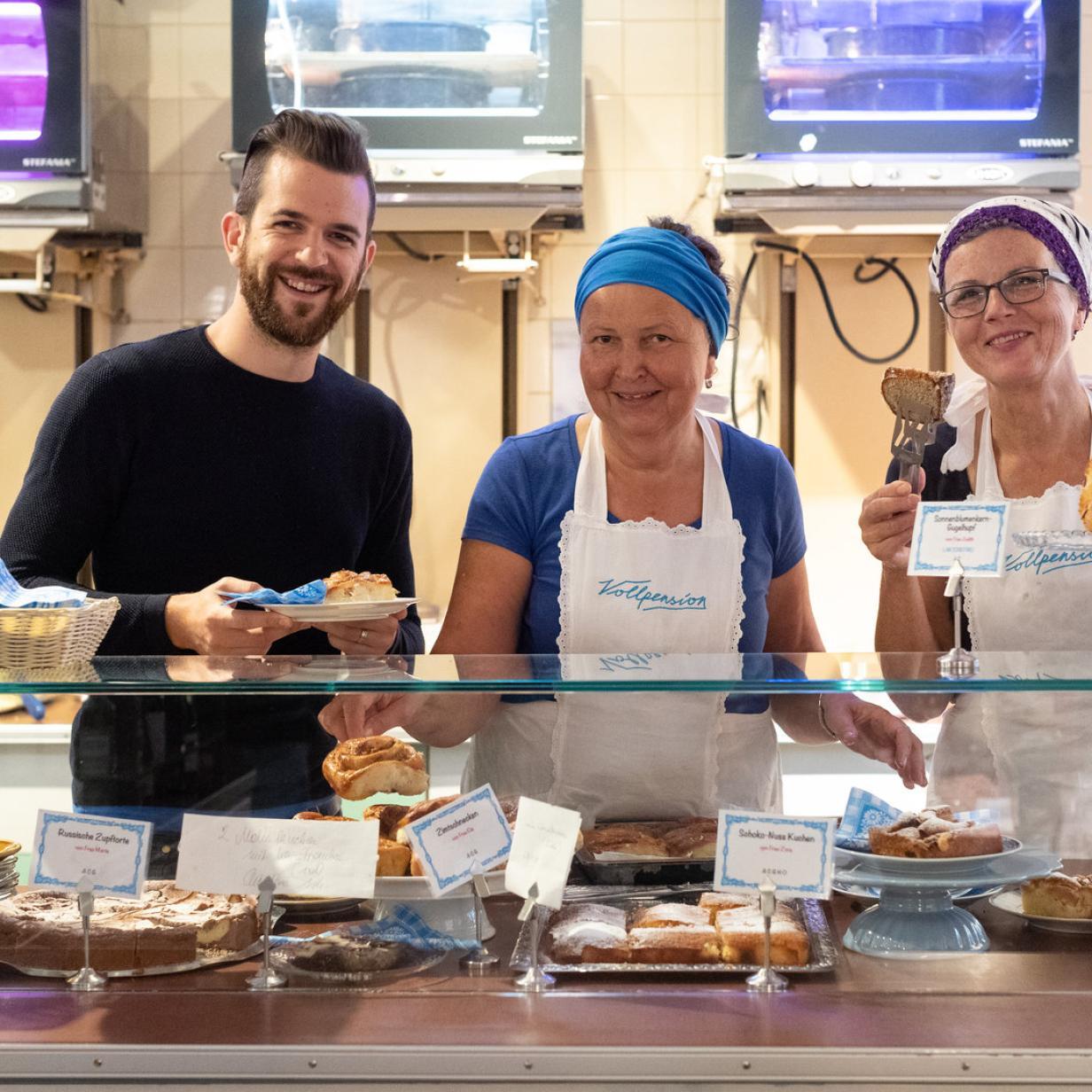 Vollpension: Omas Kuchen als Erfolgsrezept
