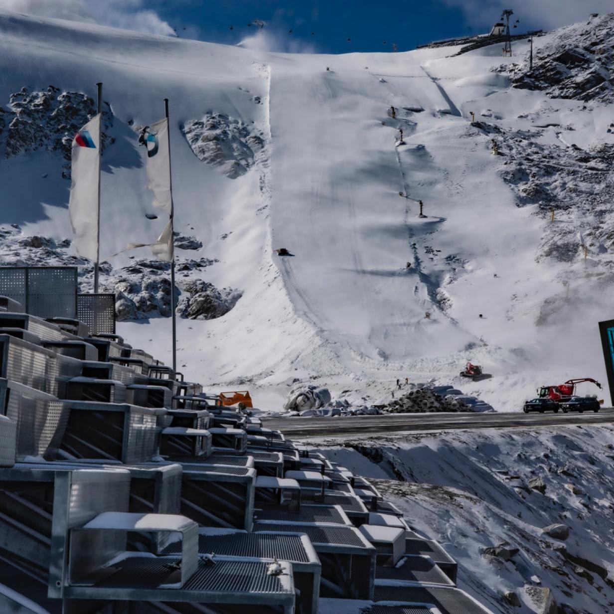 Drei Wochen vor dem Weltcup-Start: So winterfit ist Sölden