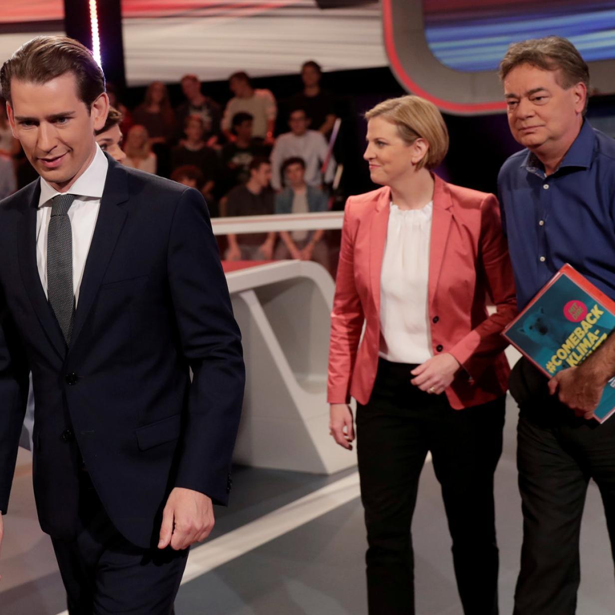 Koalition: ÖVP sondiert mit Grünen und NEOS