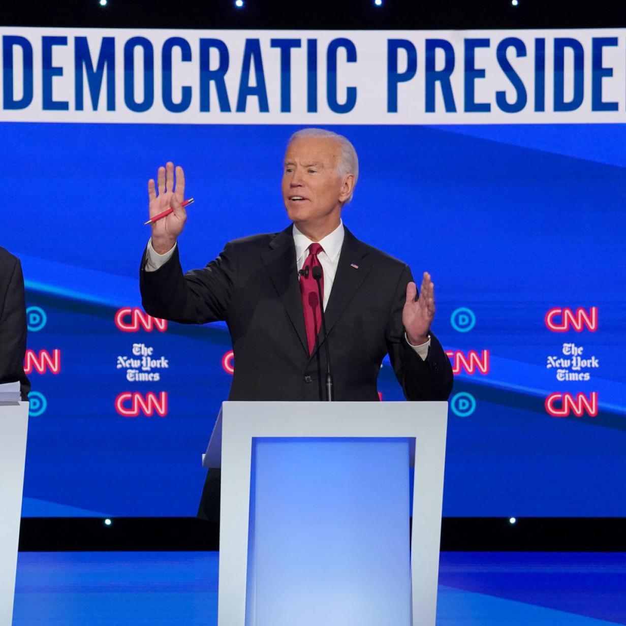 Präsidentschafts-Debatte: US-Demokraten kommen in Fahrt
