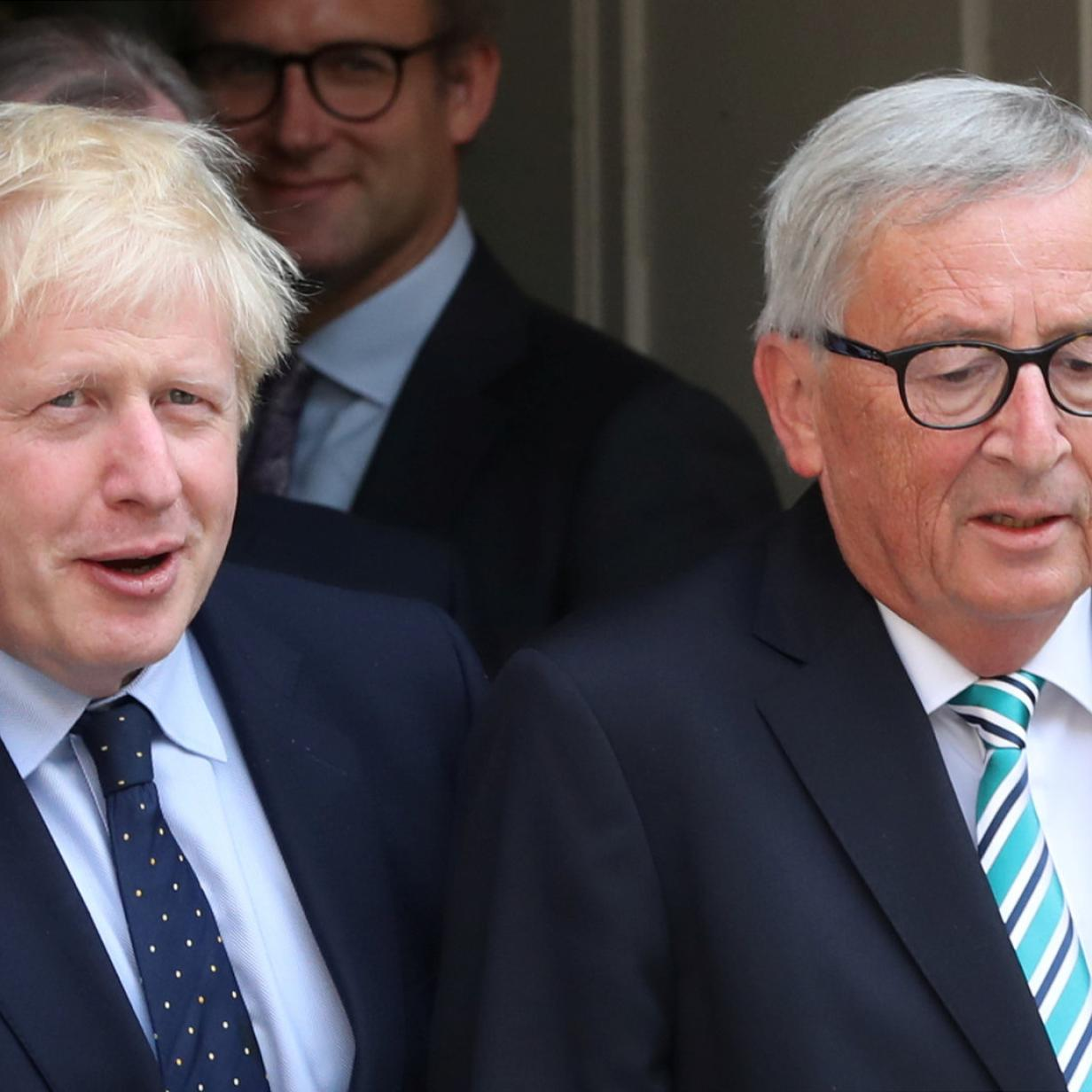 Juncker und Johnson: Brexit-Deal steht