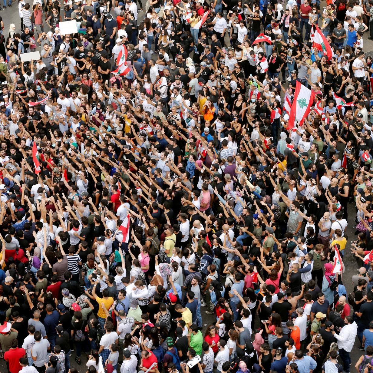 Tausende protestieren im Libanon - auch wegen Whatsapp