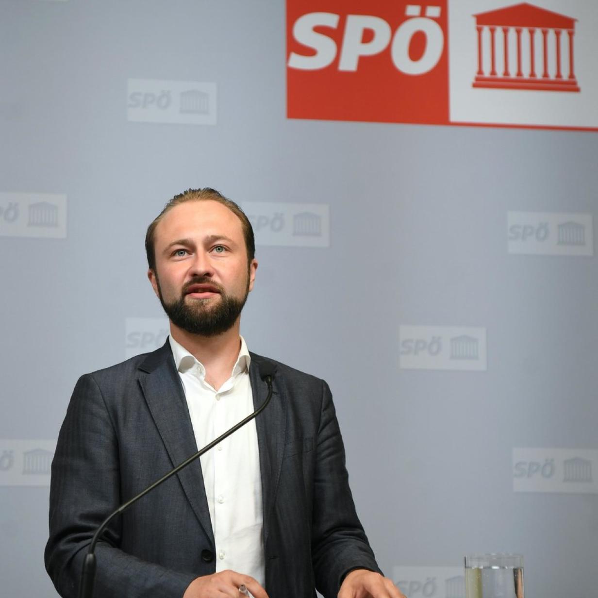 """SPÖ-Politiker Lercher klagt Zeitung """"Österreich"""""""