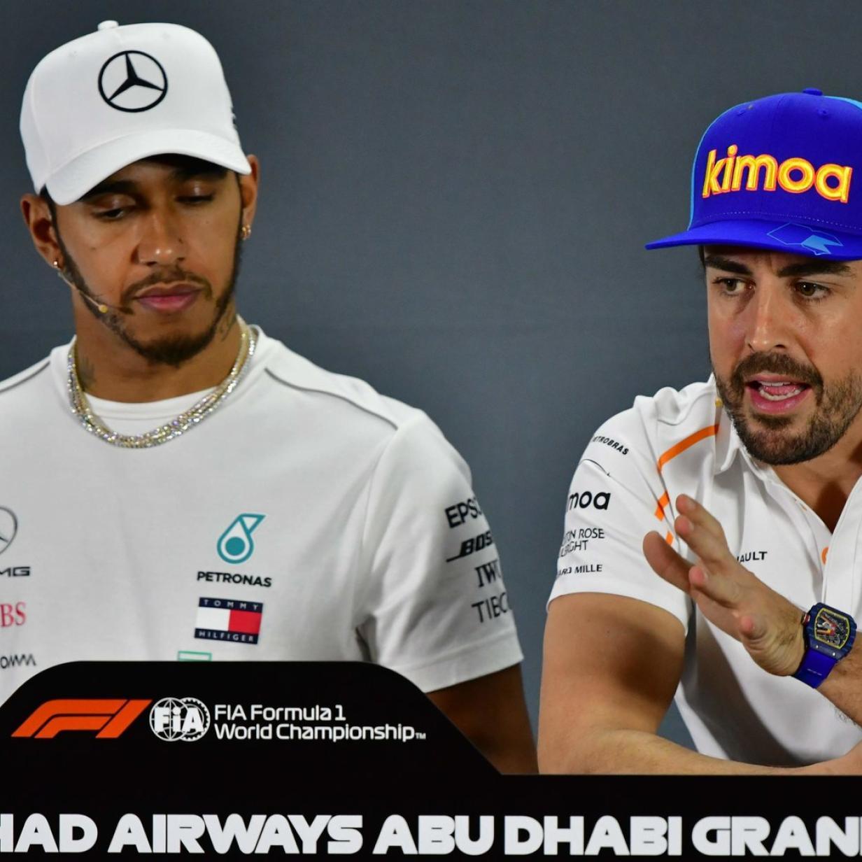 Als Weltverbesserer unglaubwürdig: Alonso watscht Hamilton ab