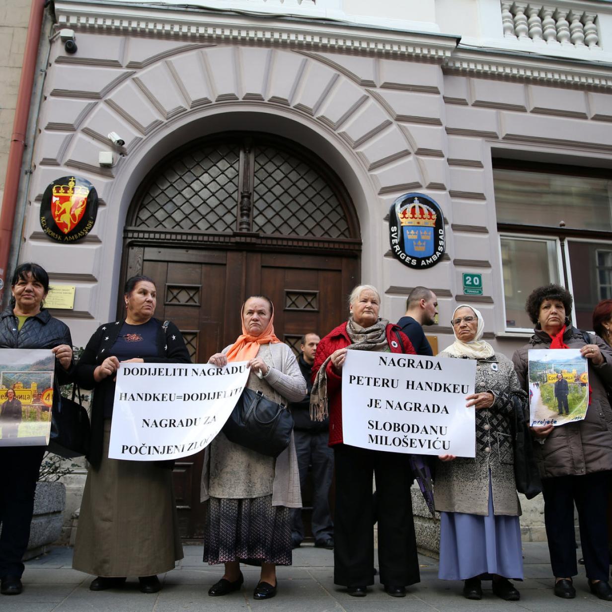 Nobelpreis für Peter Handke: Gerechtigkeit für Bosnien