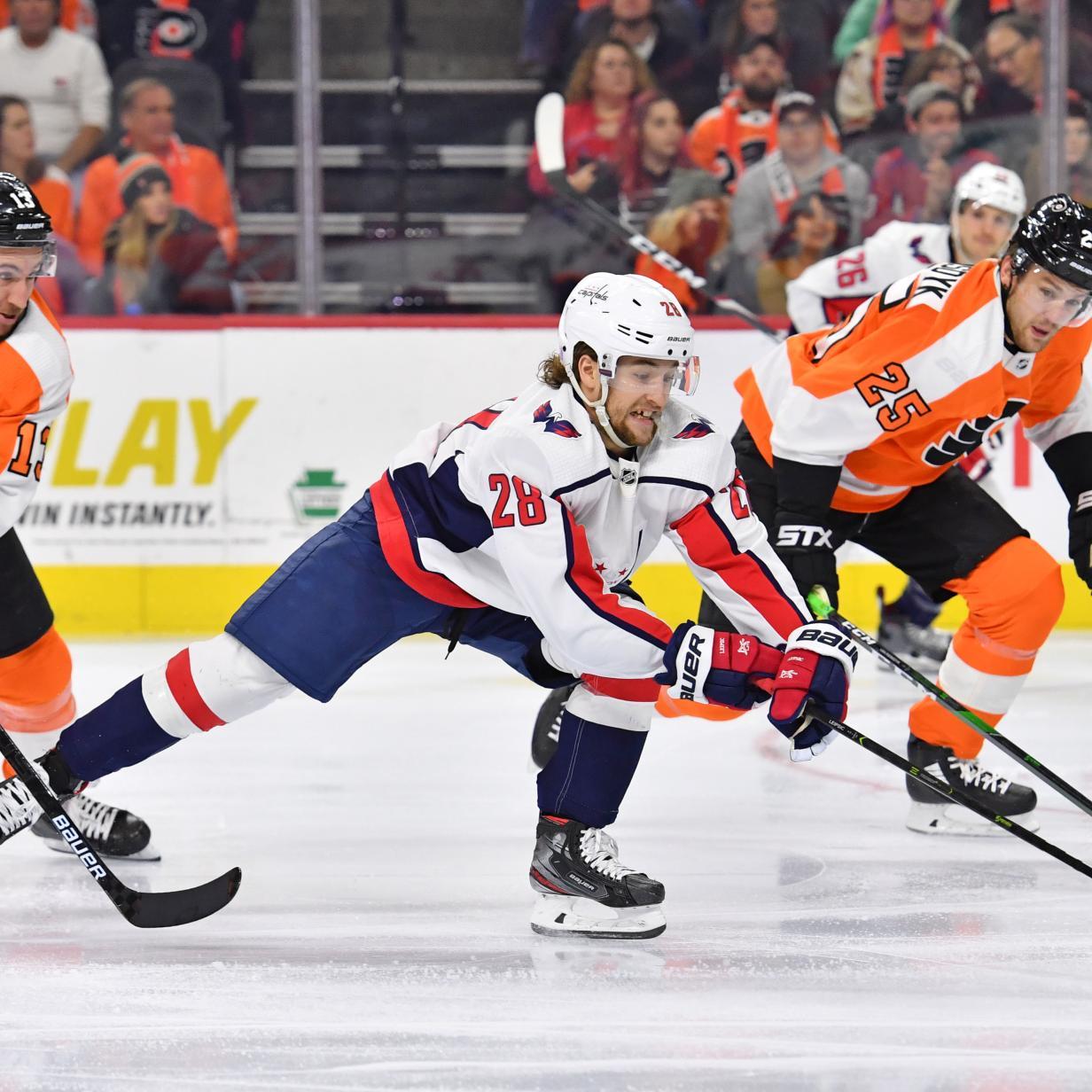 NHL: Raffl unterliegt mit Flyers Leader Washington knapp