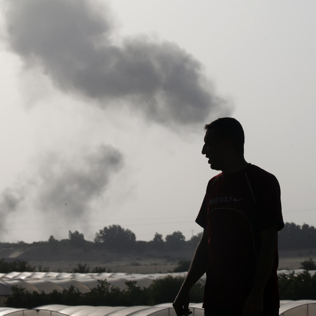 Israel fliegt nach Angriffen aus dem Gazastreifen neue Luftangriffe