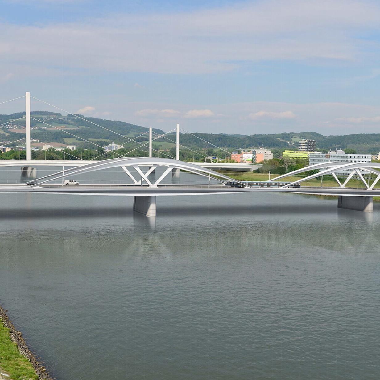 Teure Brücke kommt später: Schlagabtausch im Gemeinderat
