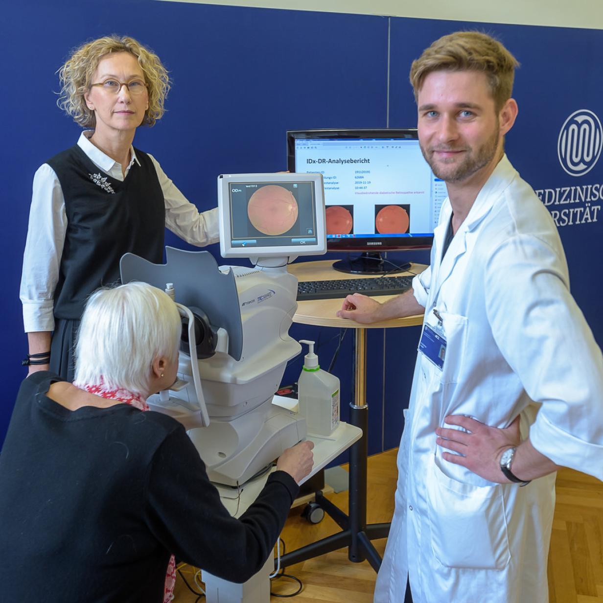 Netzhauterkrankung: Wenn der Roboter die Diagnose stellt