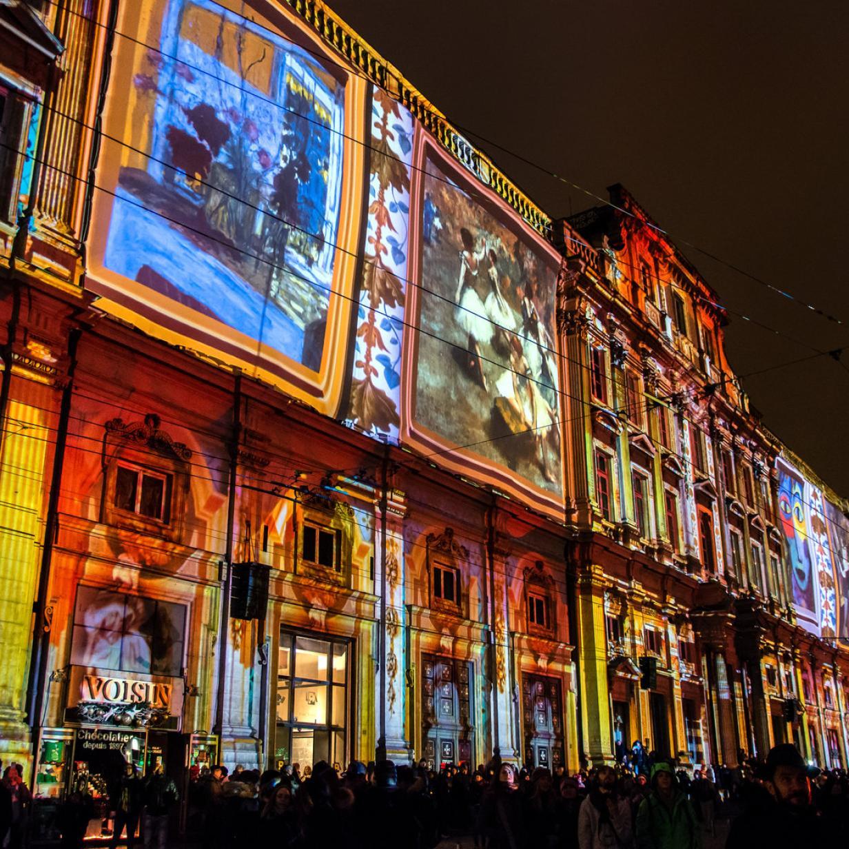 Die fabelhafte Lichterwelt der Lumières in Lyon