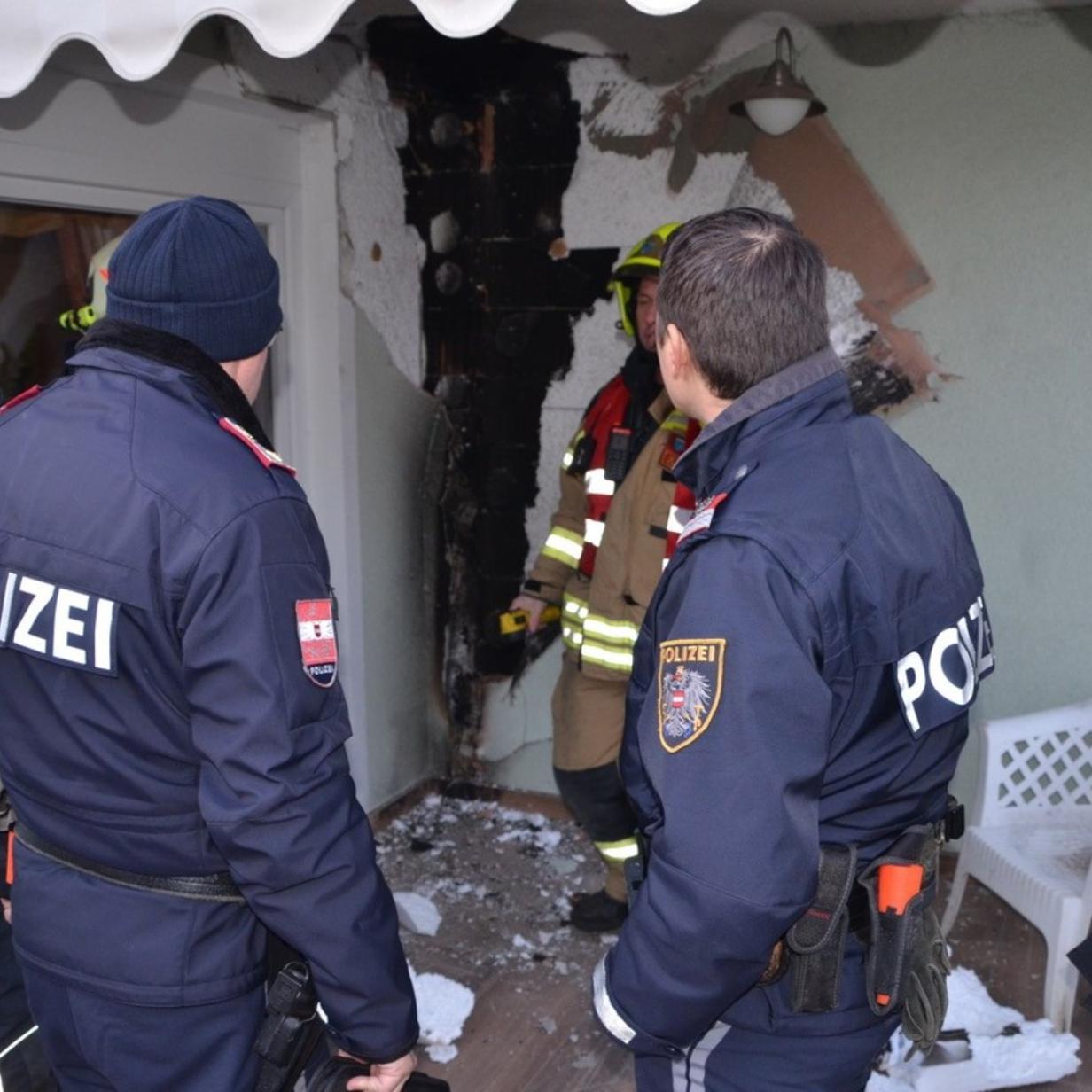 Tragödie verhindert: Nachbar löschte Brand in Einfamilienhaus