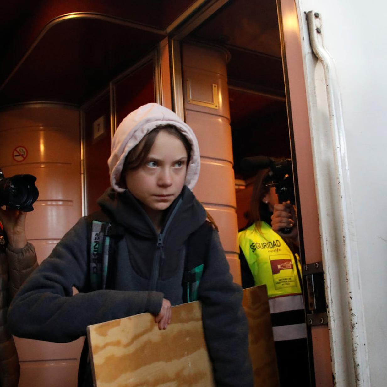 Riesenhype um Greta Thunberg vor Klimademo in Madrid