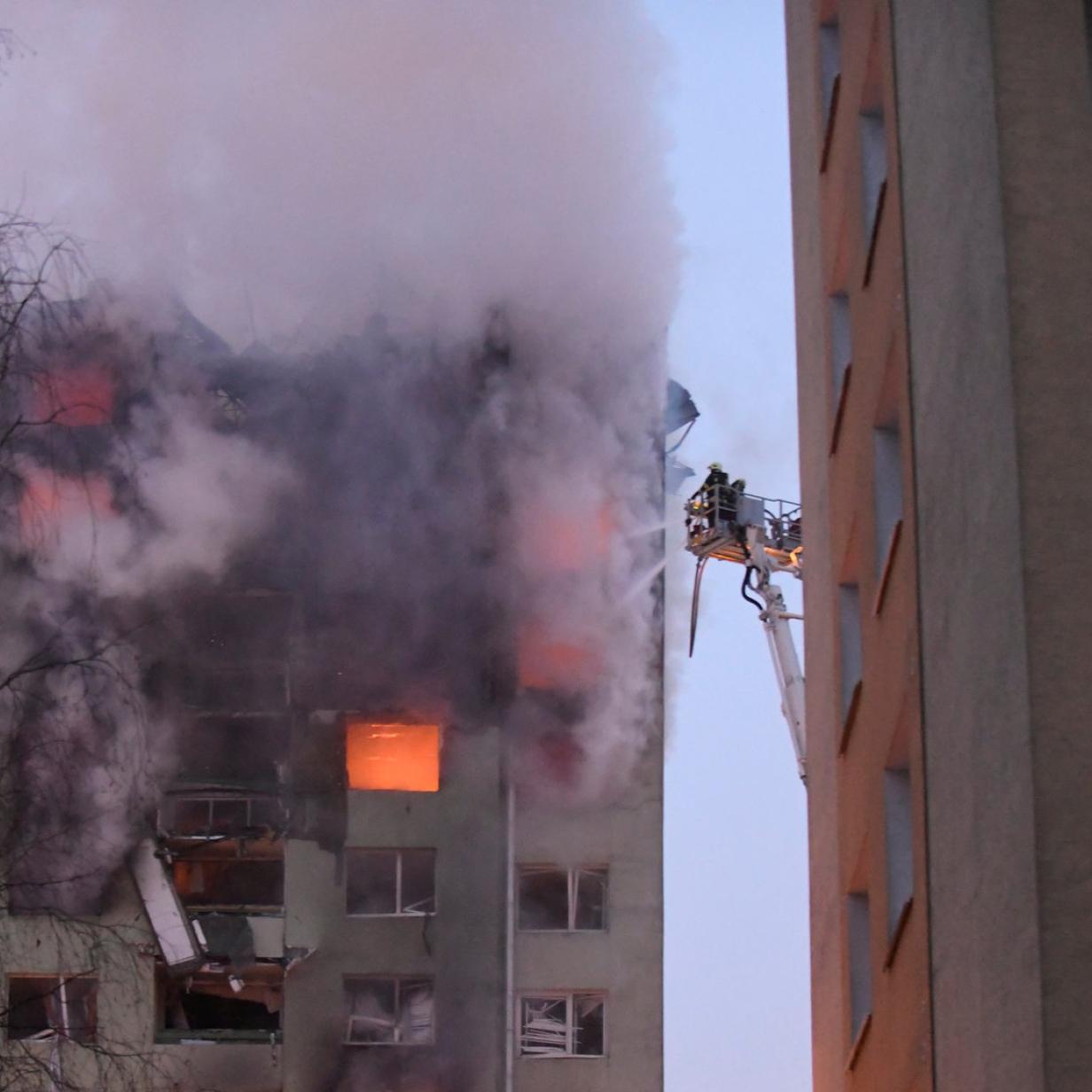 """Tödlicher Brand in Hochhaus: """"Viele haben nur gefilmt statt geholfen"""""""