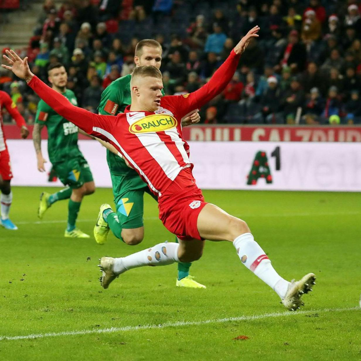 Bundesliga live: Führung für Salzburg, Hartberg und den LASK