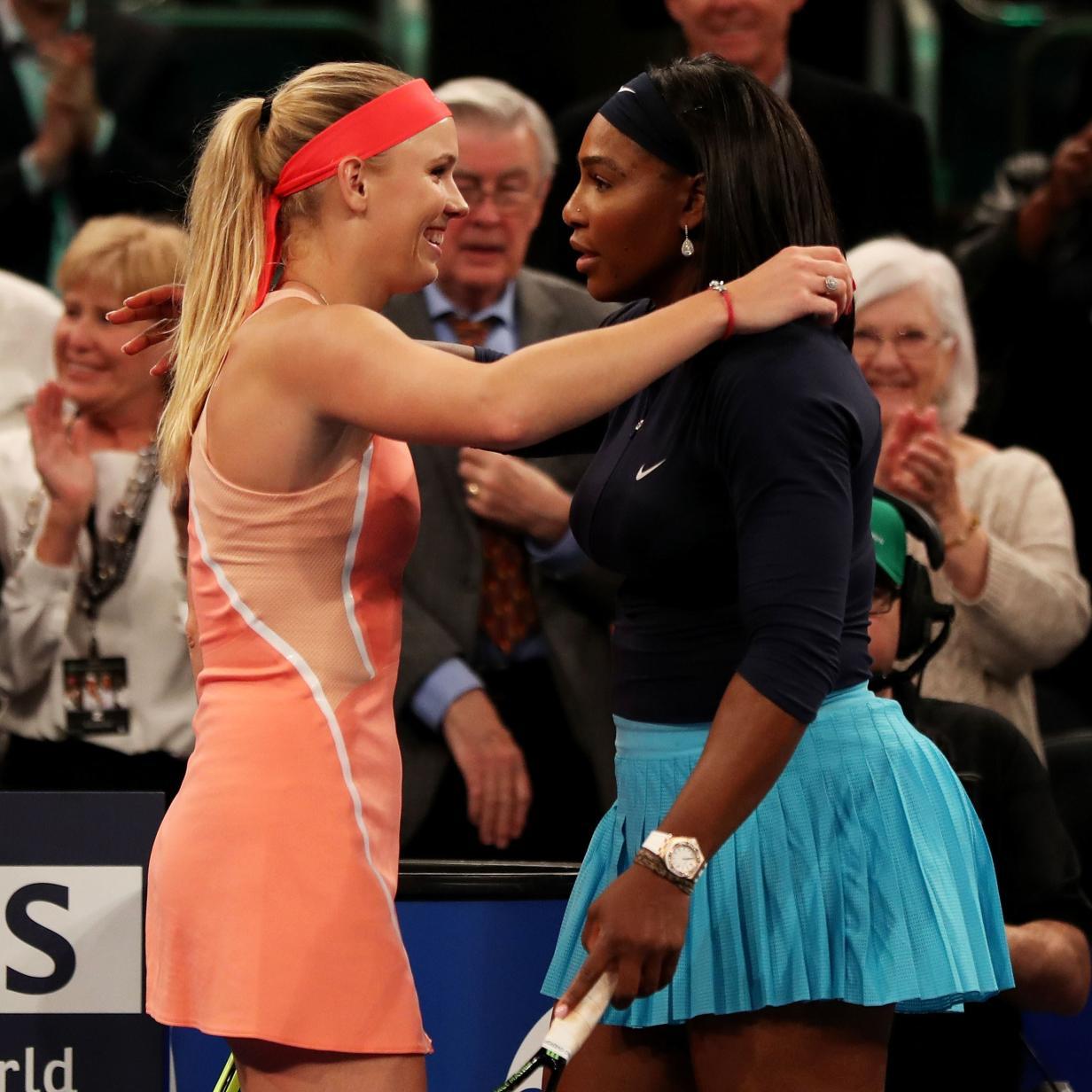 Wozniacki spielt letztes Karriere-Match gegen Serena Williams