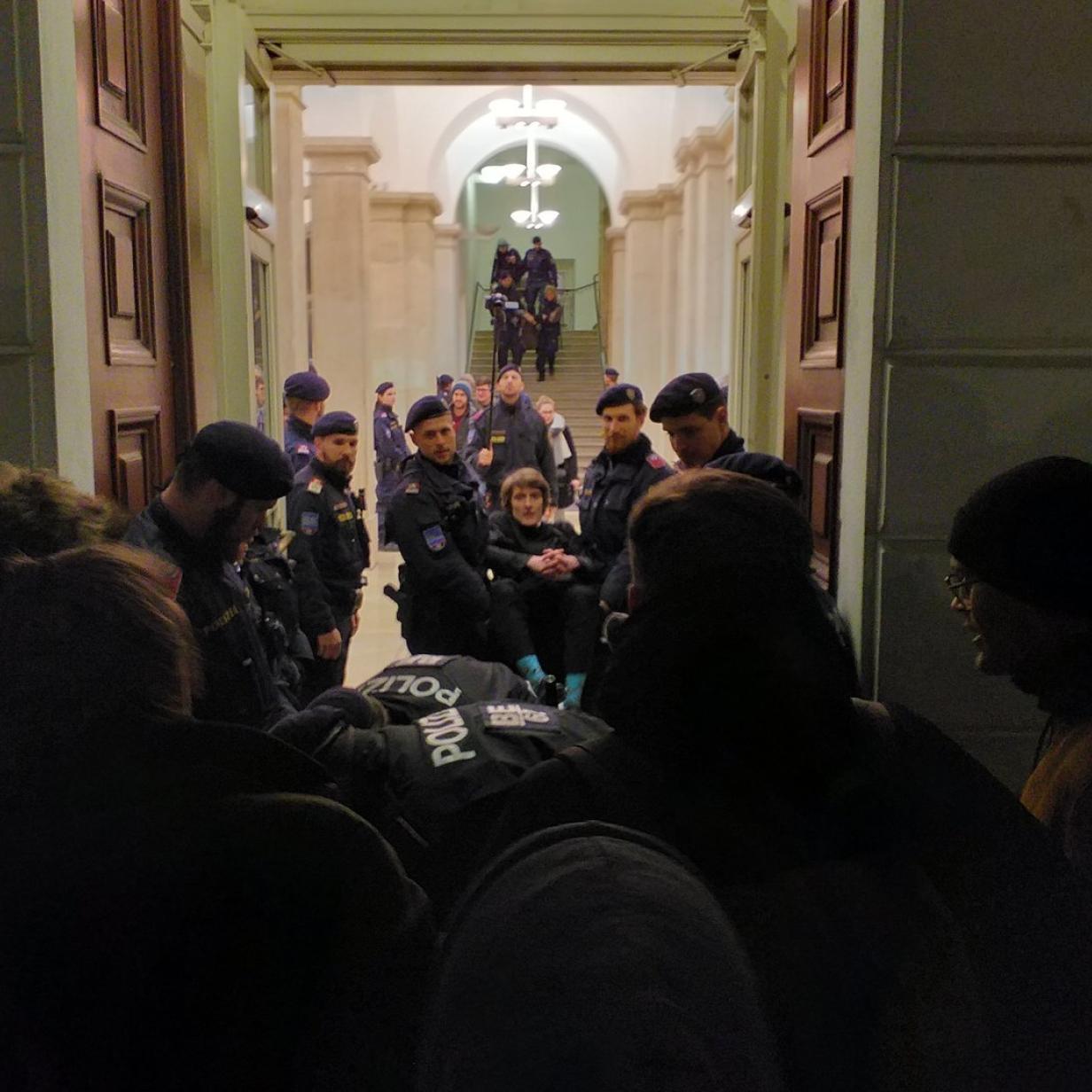 Aktivisten besetzen die TU Wien: Brennt die Uni doch?