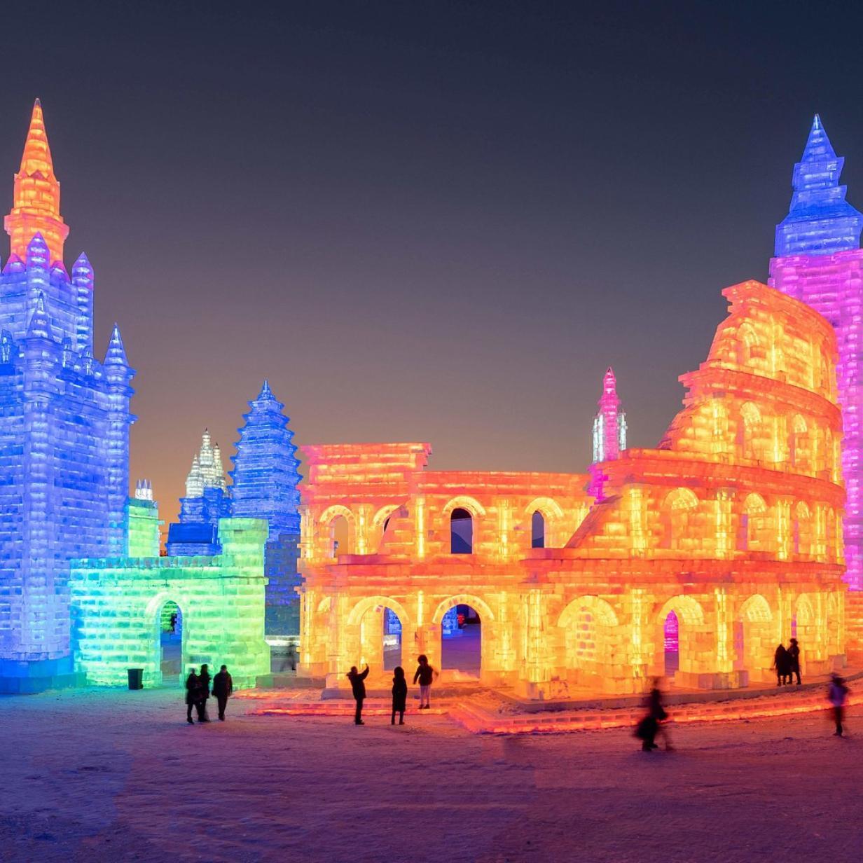 Absolut unverfroren: Städte, Paläste und Orgeln - aus Eis!
