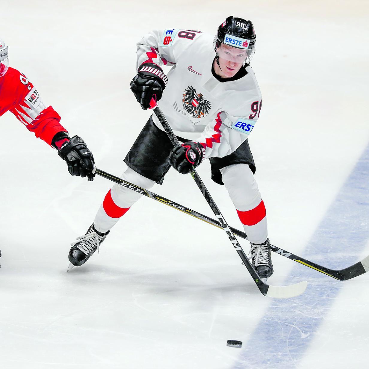 Österreichs Eishockey-Nachwuchs schafft die große Sensation