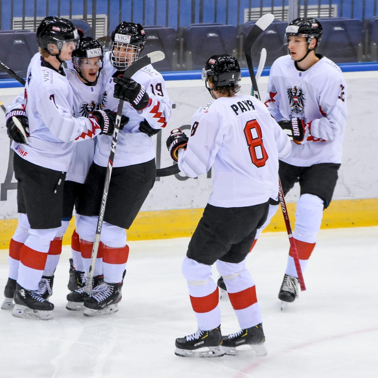 Wie es Österreichs Eishockey-Nachwuchs zur Sensation schaffte