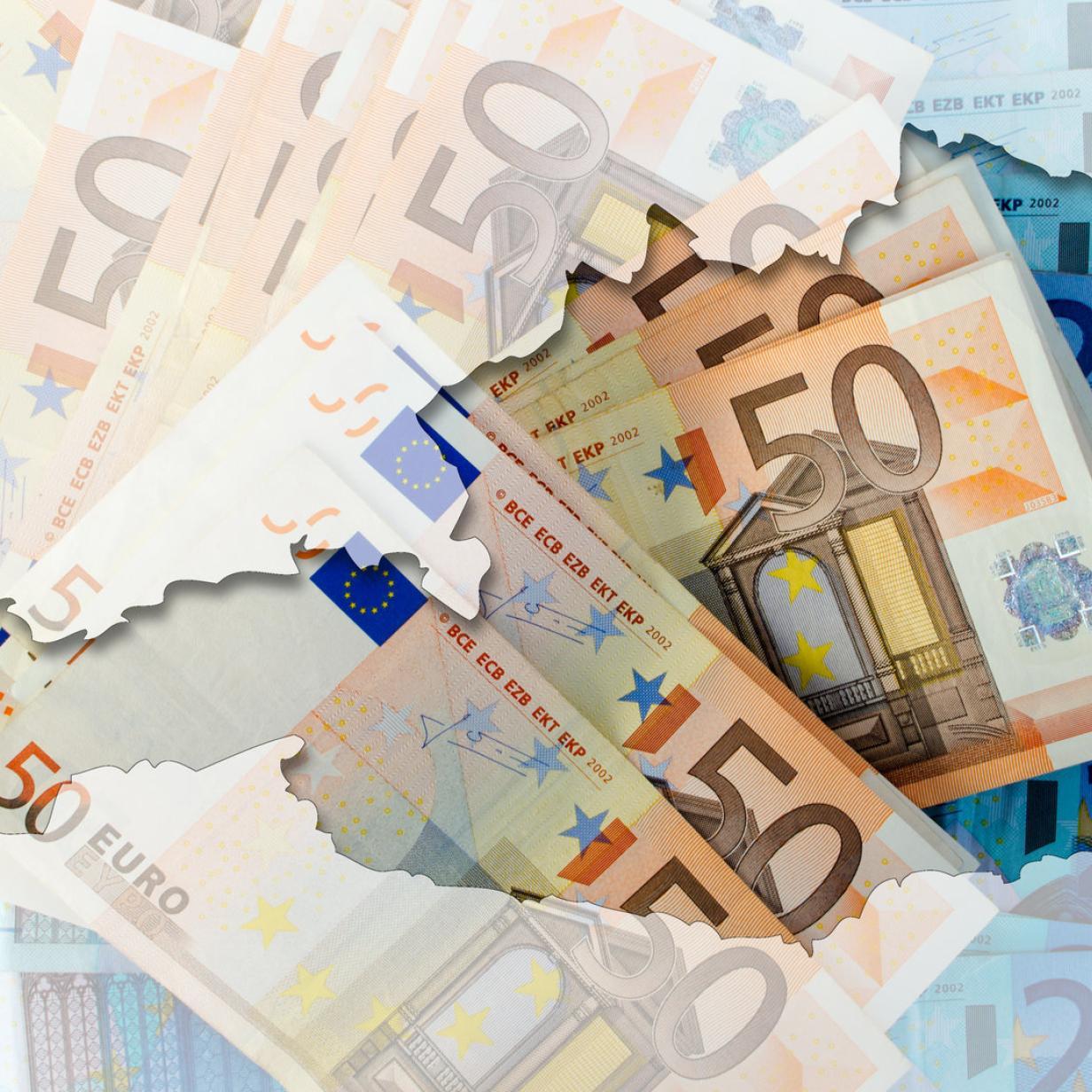 559.000 falsche Euro-Banknoten sichergestellt: 50-Euro-Blüten führend