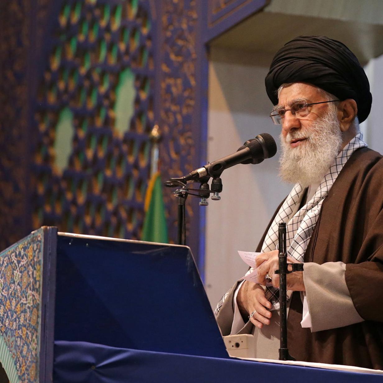 """Irans geistlicher Führer Khamenei: """"Trump ist ein Clown"""""""