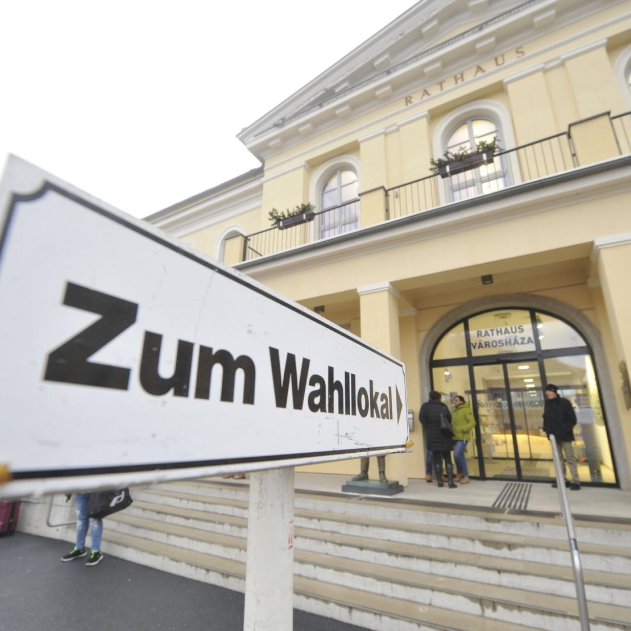 Burgenland: Wahlbeteiligung im Bezirk Mattersburg am höchsten