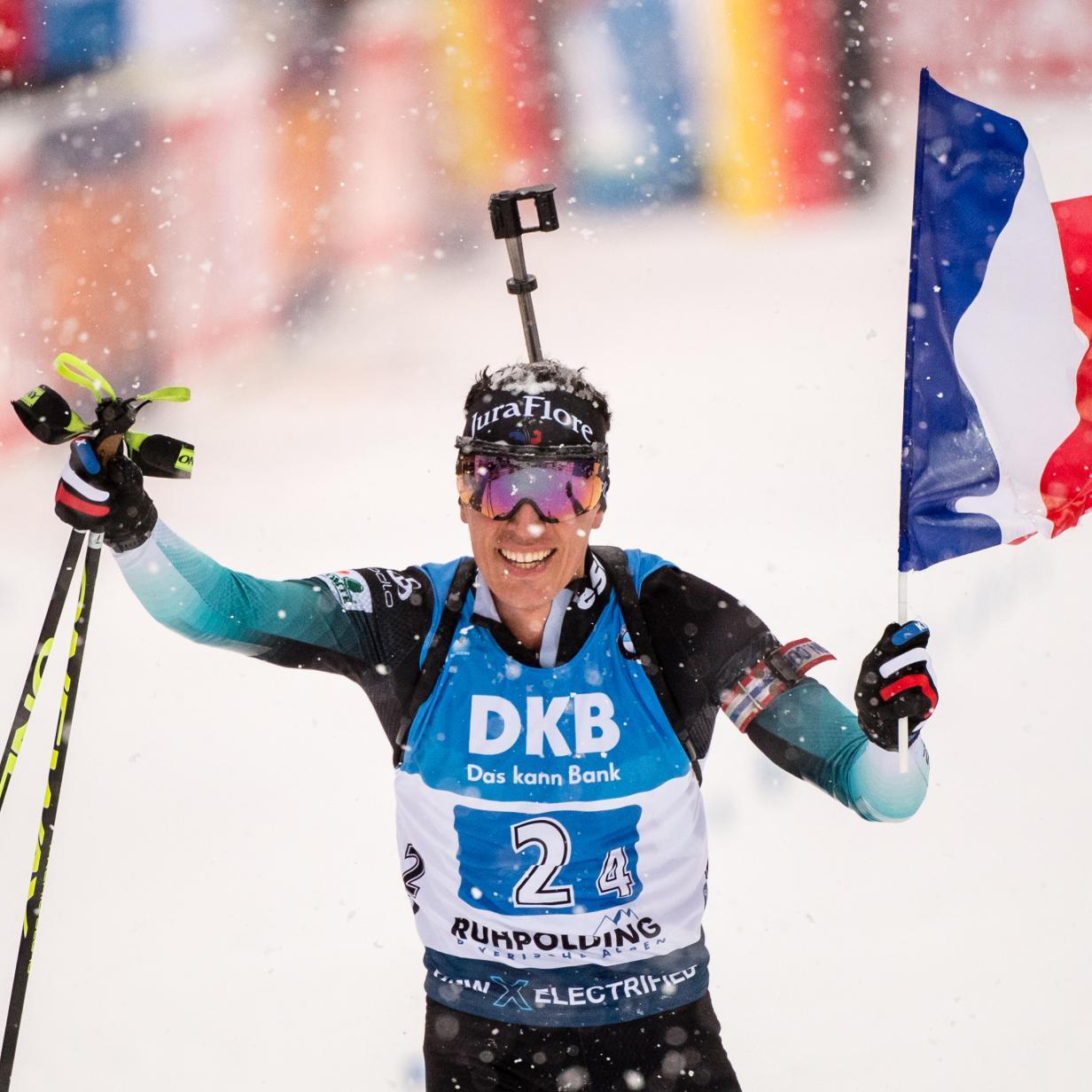 Biathlon-Staffel: Sieg an Frankreich, erstes Podest für ÖSV