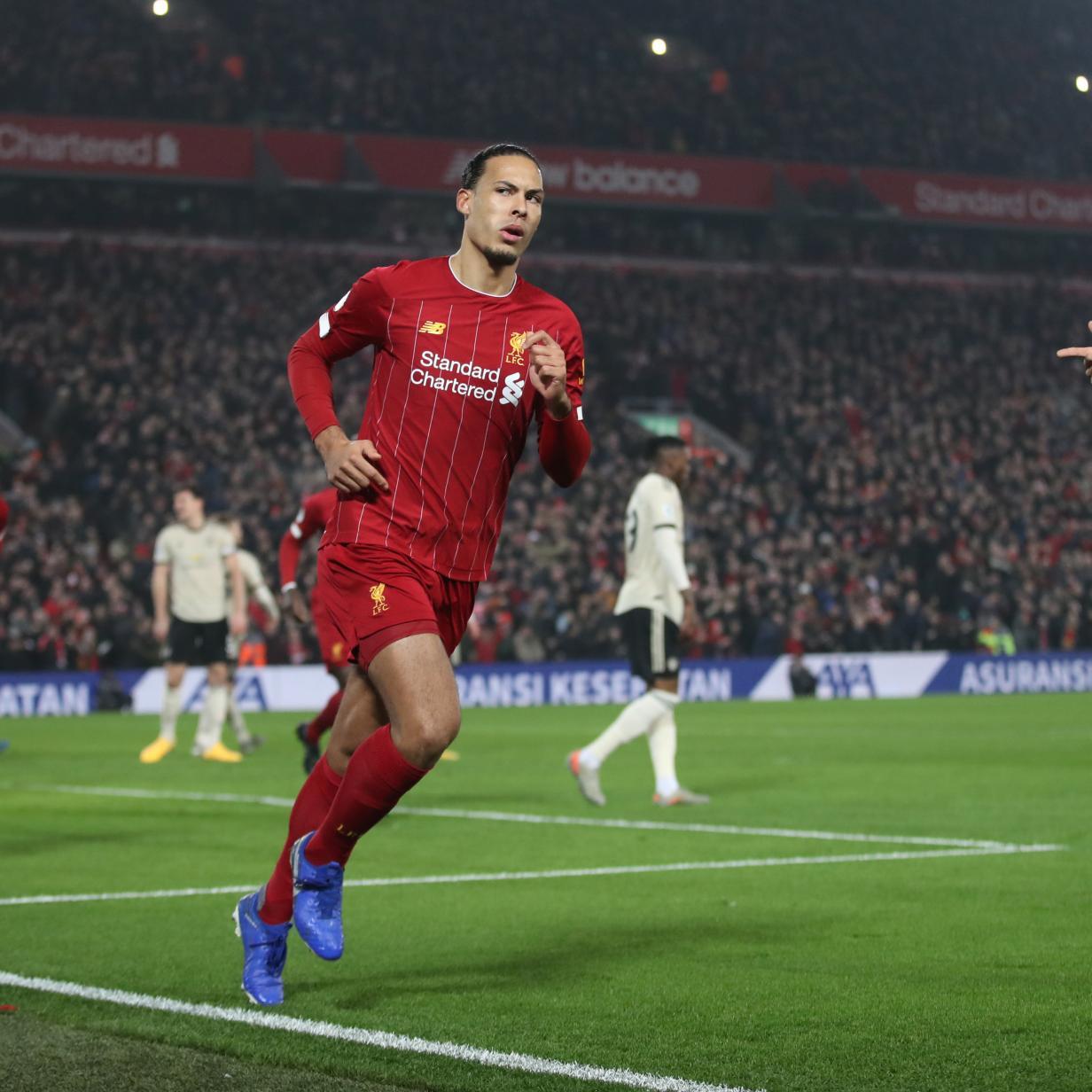 Manchester United konnte Liverpool nicht stoppen
