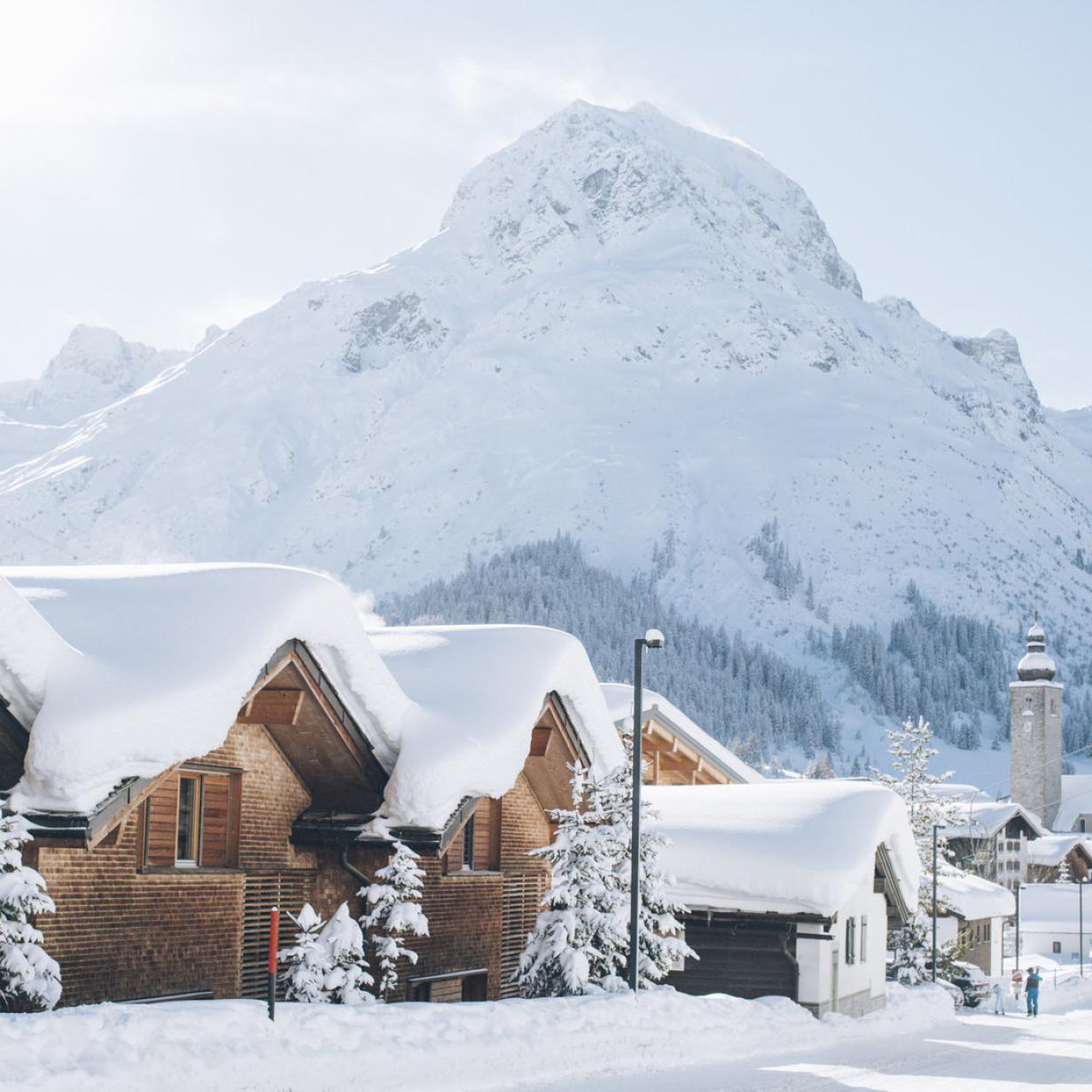 Luxus im Schnee: Ein Edelberg namens Arlberg