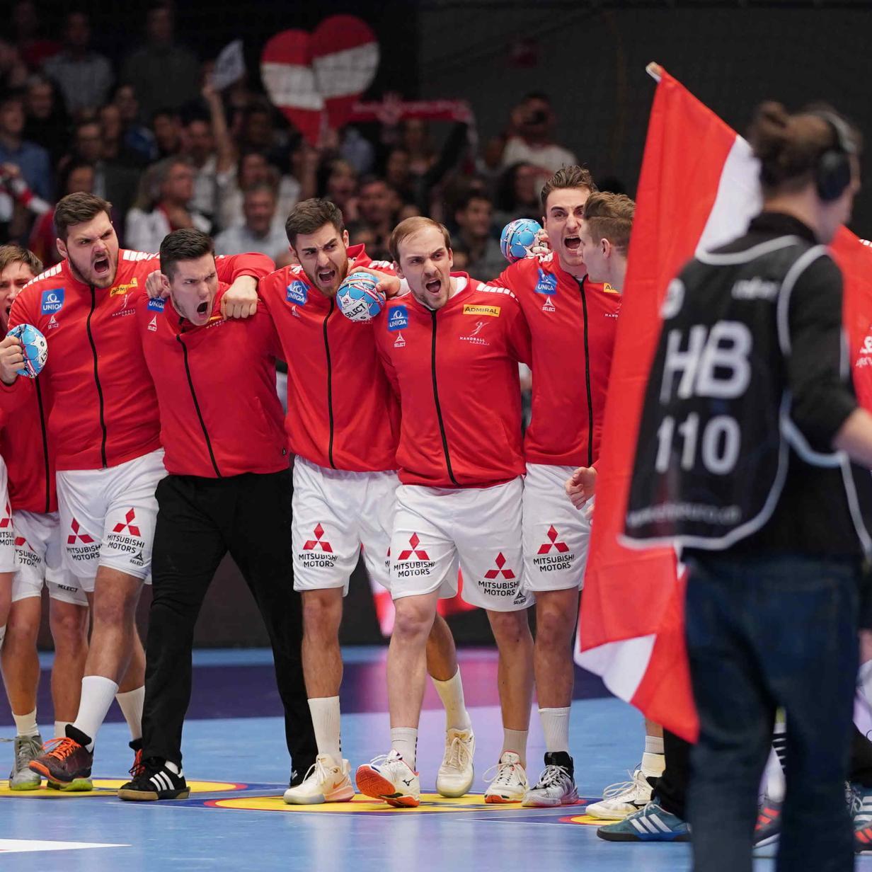 Handball-EM live: Stand bei Österreich gegen Weißrussland