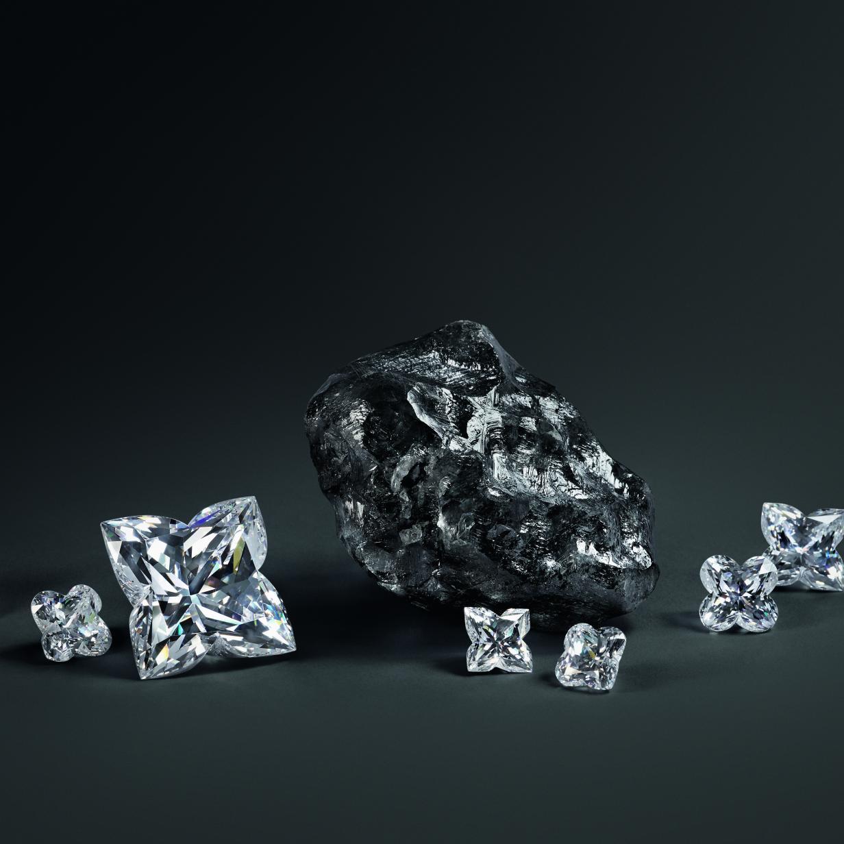 Was Louis Vuitton mit einem tennisballgroßen Rohdiamanten vorhat