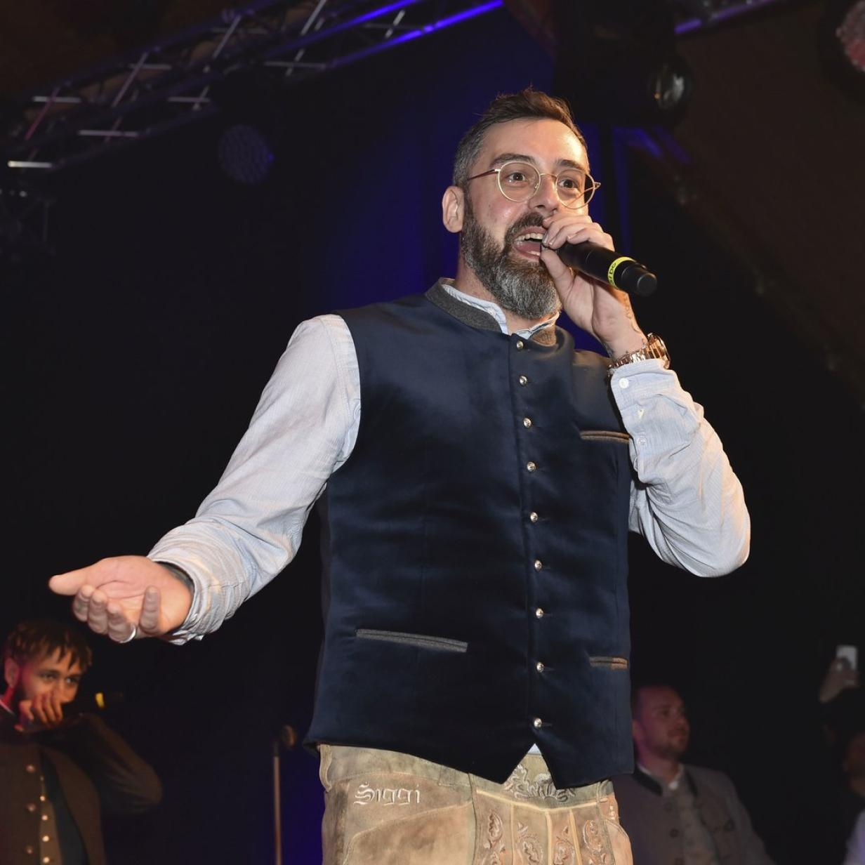 Skandal-Auftritt von Rapper Sido bei der Weißwurstparty