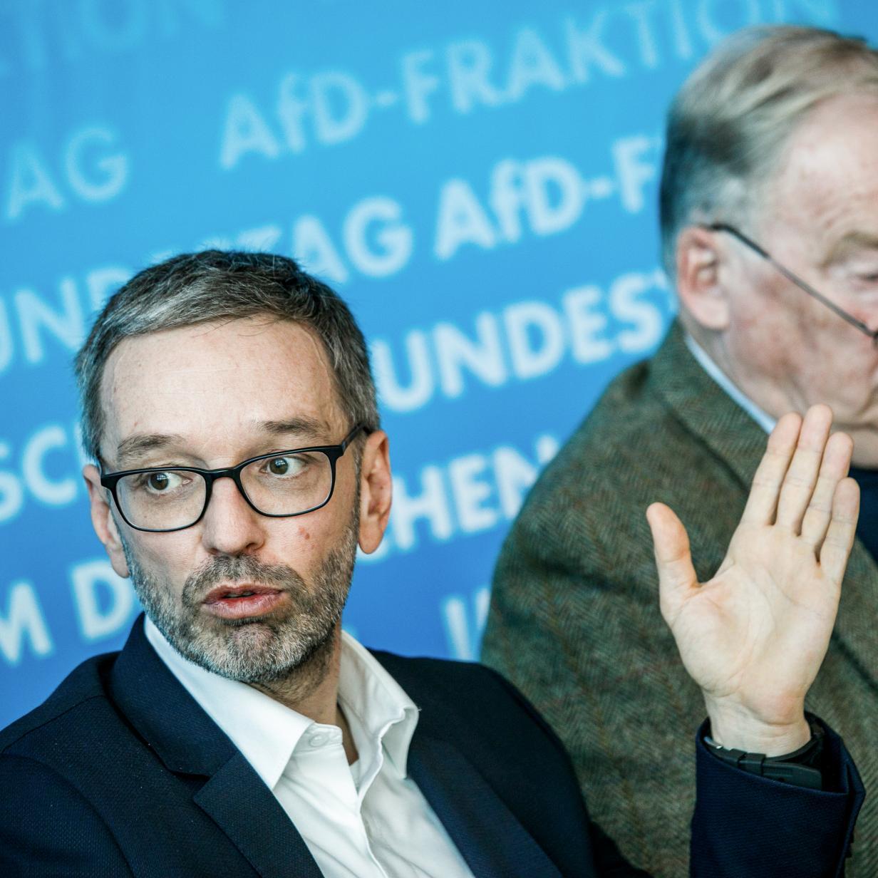 Rumoren in der FPÖ nach Kickls AfD-Stippvisite