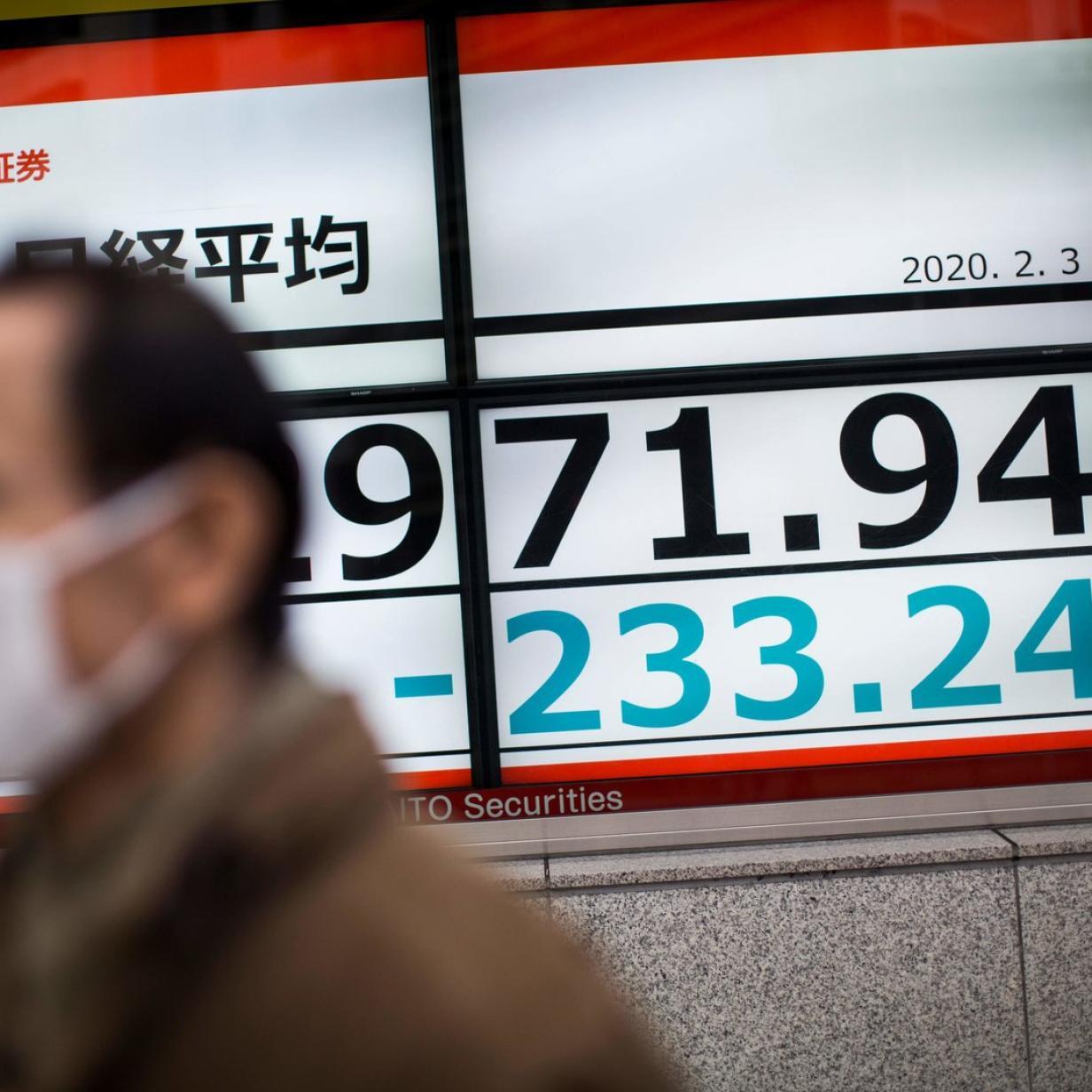 Aktienkurse in China im freien Fall