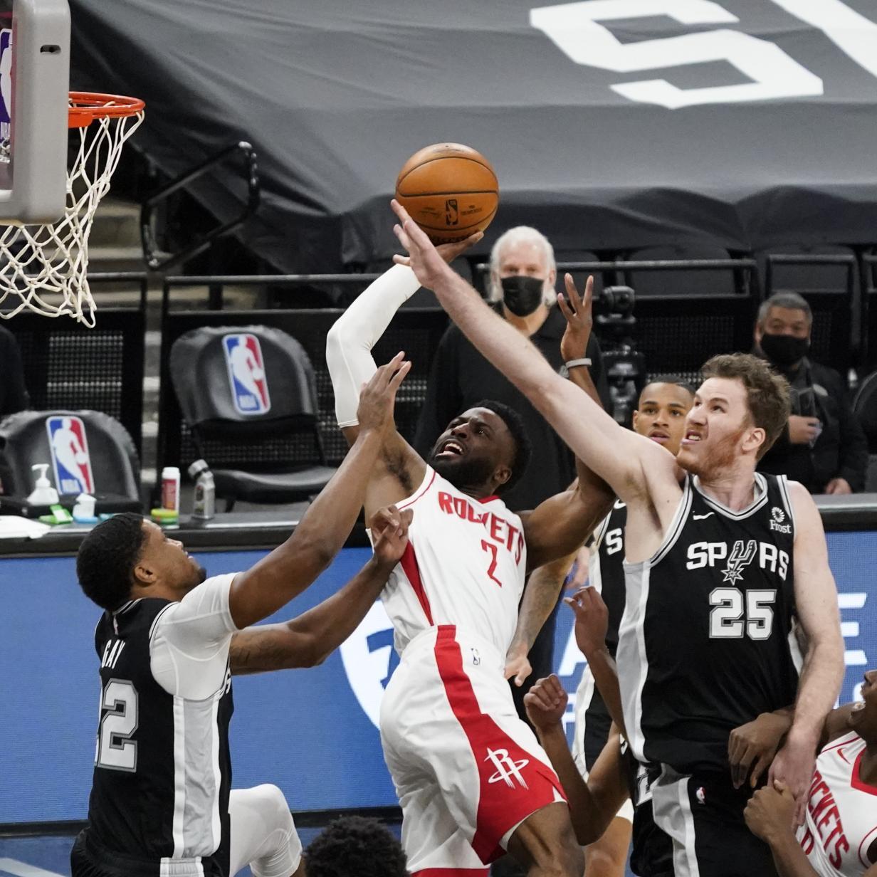 NBA: San Antonio unterliegt Houston im ersten Spiel ohne Harden | kurier.at