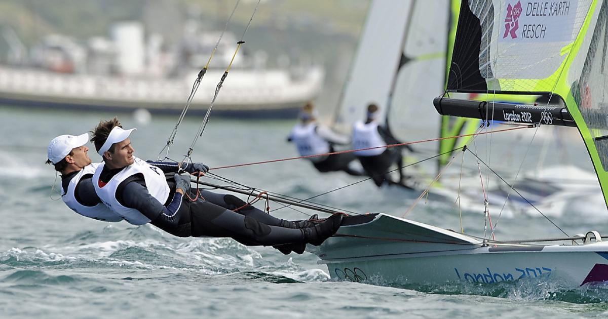 Segel-Duo Delle Karth/Resch verpasst Bronze knapp | kurier.at