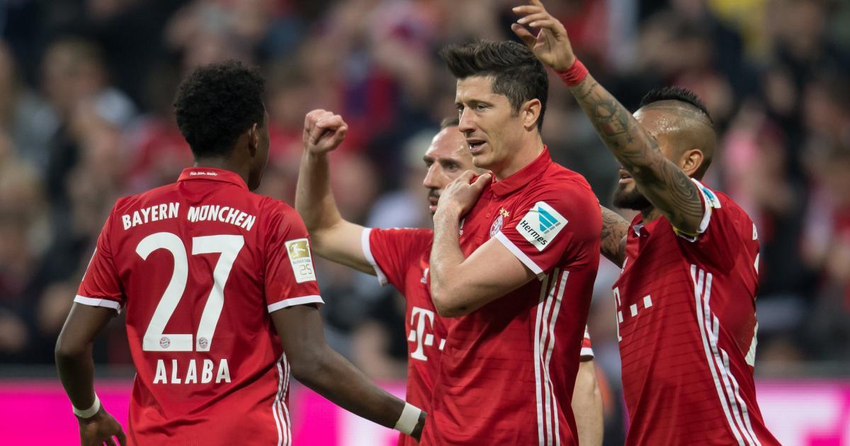 Fußball Bayern Gegen Dortmund