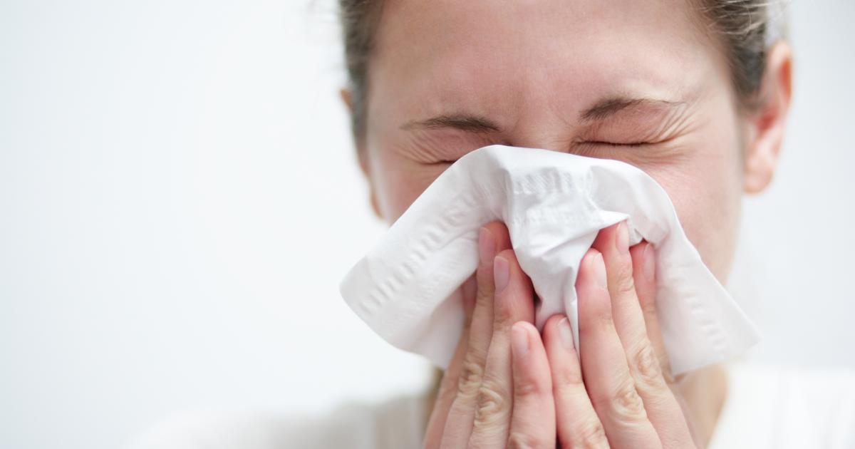 Hirnflüssigkeit Nase