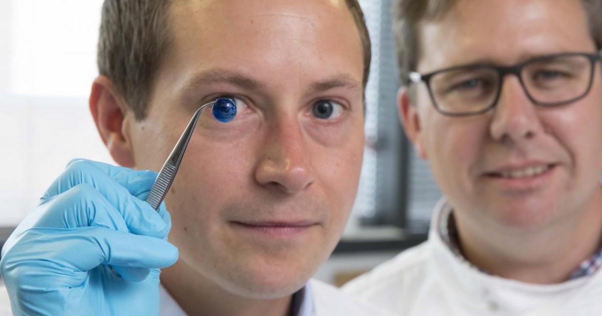 """Erste Hornhaut mit 3D-Drucker """"gedruckt"""""""