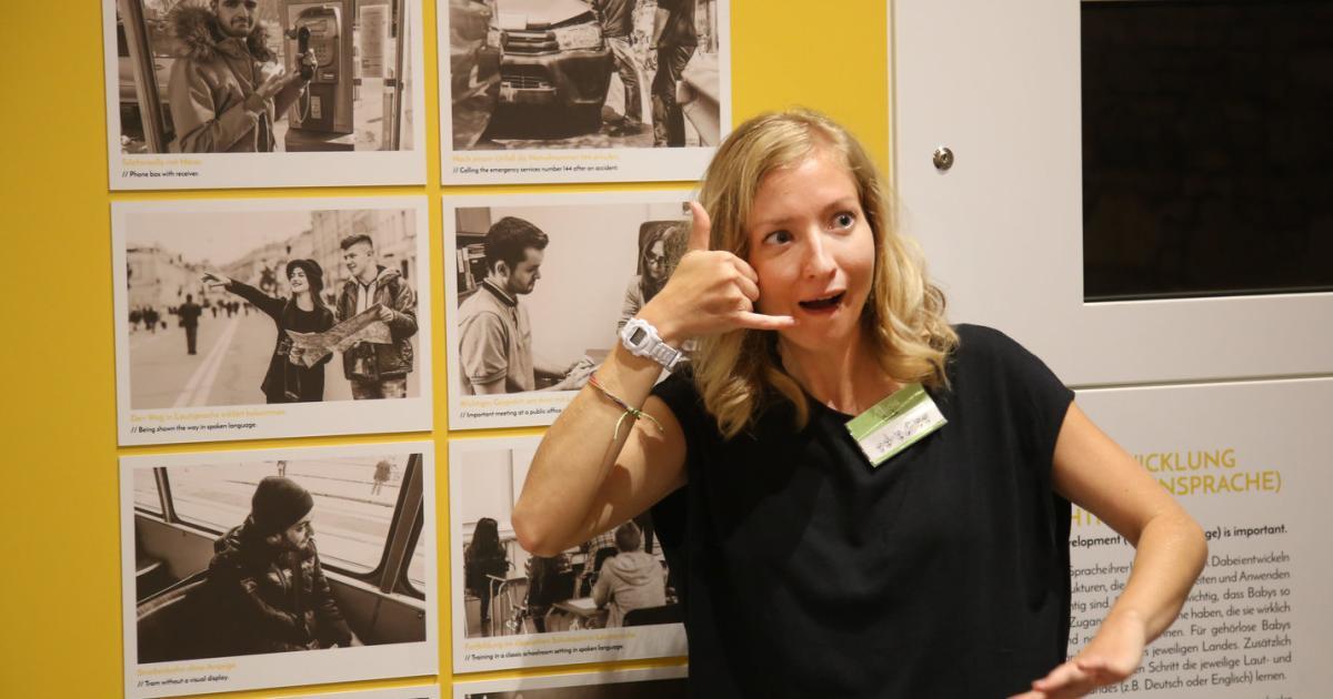 Ausstellung Verstehen Wie Gehörlose Menschen Leben Kurierat