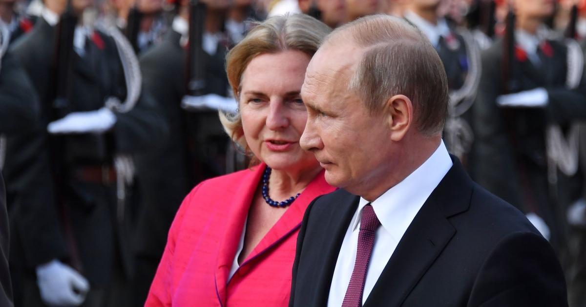 Putin kommt am Samstag zur Hochzeit von Karin Kneissl