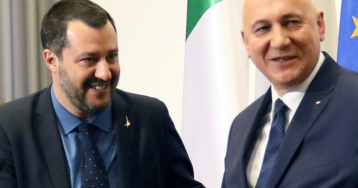 Salvini: Italien und Polen werden Rechtsaußen-Achse bilden