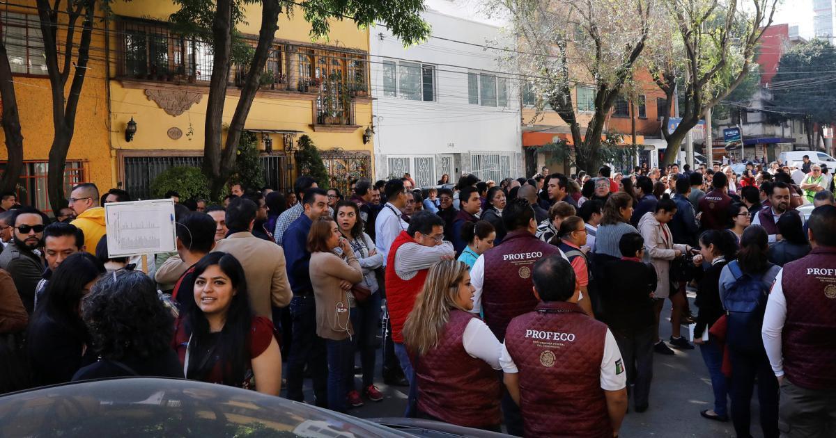 Erdbeben der Stärke 6,6 im Süden Mexikos