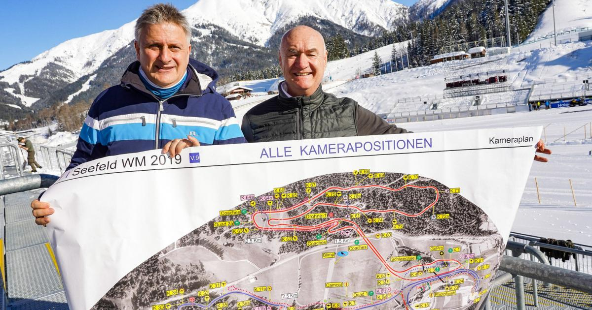 Nordische Ski-WM: ORF mit Heimvorteil in Tiroler Bergen