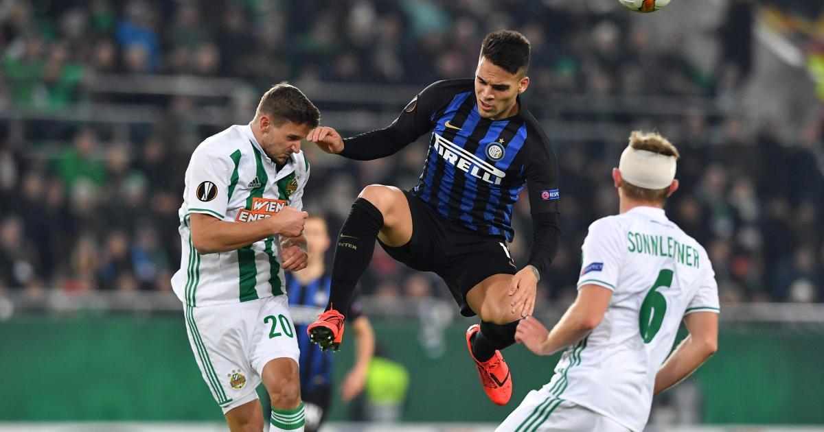 Europa League live: Inter Mailand - Rapid Wien
