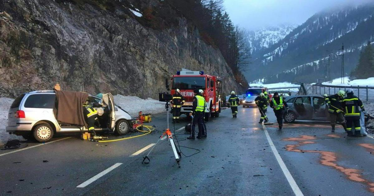 German killed in traffic accident in the Tyrolean Fernpass